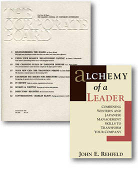 the corporate board and 'alchemy of a leader'